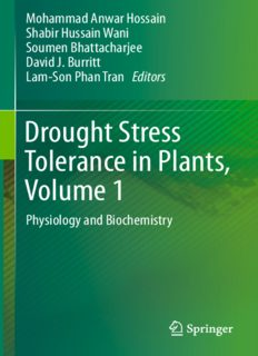 Drought Stress Tolerance in Plants, Vol 1: Physiology and Biochemistry