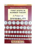 Mathematical Marvels First Steps in Number Theory A Primer on Divisibility by Shailesh Shirali Universities Press RMO INMO Mathematics Olympiad IMO