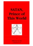 Satan - Prince of This World, William Guy Carr, R.D. - Jesus is Savior
