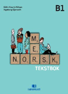 Mer norsk - Tekstbok (B1)
