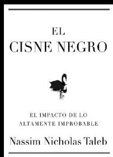 Cisne Negro – Nassim Taleb