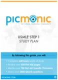 USMLE STEP 1 - Picmonic