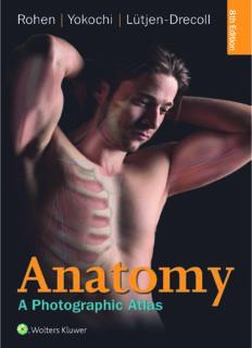 Anatomy.  A Photographic Atlas