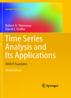Time Series Analysis and Its Applications: With R Examples (Third