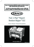 Pack 'n Play® Playard Newborn Napper® DLX