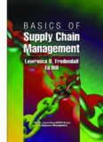 Basics of Supply Chain Management (St. Lucie Press Apics Series on Resource Management)