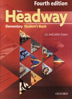 New Headway Elementary Student's Book 4th Edition