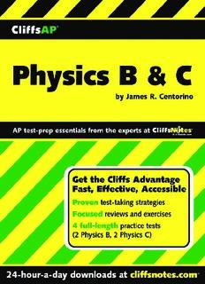 Cliffs AP physics