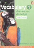 """Vocabulary games and activities 1 - Welcome to my """"English"""