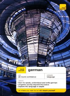 Teach Yourself German Complete Course, 4th edition (Teach Yourself Language Complete Courses)