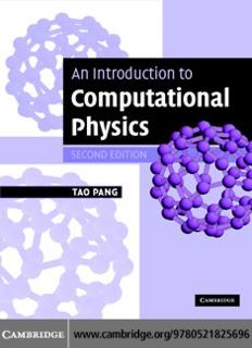 Pang - An introduction to computational physics