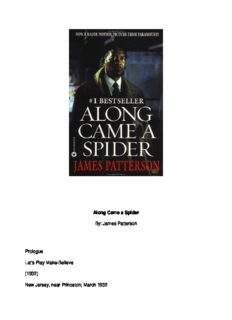James Patterson - Alex Cross 01 - Along Came a Spider