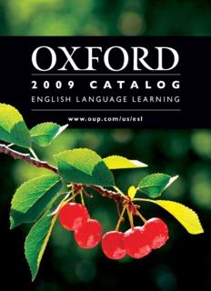 Oxford Picture Dictionary Programs