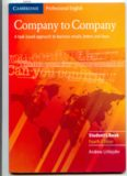 Company to Company: A Task-Based Approach to Business Emails, Letters and Faxes in English