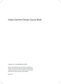 Indian Garment Design Course Book - Usha Initiatives