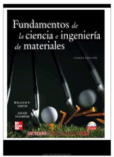 Fundamentos de la ciencia e ingeniería de materiales