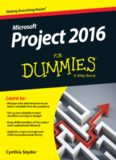 Microsoft Project 2016 For Dummies