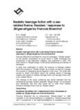 responses to Slinger-slinger by Francois Bloemhof