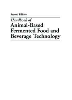 Handbook of Fermented Food and Beverage Technology, Second Edition: Handbook of Animal-Based Fermented Food and Beverage Technology