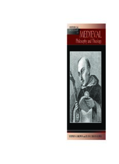 Historical Dictionary of Medieval Philosophy and Theology (Historical Dictionaries of Religions, Philosophies and Movements)