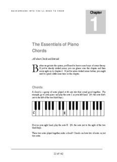 The Essentials of Piano Chords - Interactive Piano Chord Visualizer