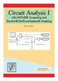 Circuit Analysis I