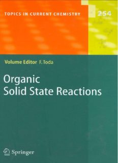 Organic Solid State Reactions: -/-
