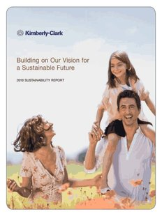 Building on Our Vision for a Sustainable Future - Kimberly-Clark