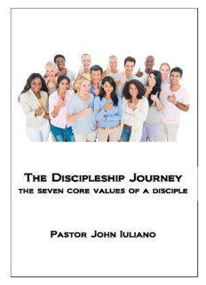 The Discipleship Journey Discipleship Journey Discipleship Journey