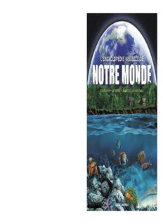 Encyclopédie Visuelle de notre monde : L'Univers - La Terre - La météo - Les océans