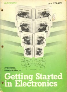 Getting Started In Electronics - Forrest M. Mims
