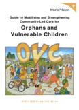 Orphans and Vulnerable Children - CRIN