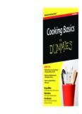 Cooking Basics For Dummies (For Dummies (Cooking))