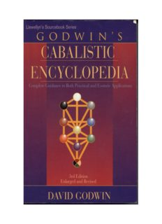 Godwin's Cabalistic Encyclopedia: A Complete Guide to Cabalistic Magick, Third edition, Enlarged and revised