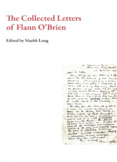 The Collected Letters of Flann O'Brien