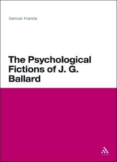 The psychological fictions of J.G. Ballard