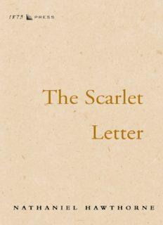 Hawthorne, Nathaniel - The Scarlett Letter