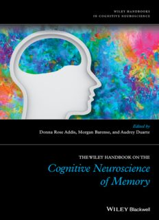 The Wiley Handbook on The Cognitive Neuroscience of Memory