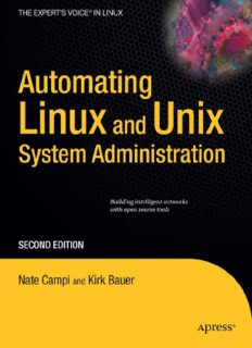 Automating Linux and Unix System Administration, Second Edition (Expert's Voice in Linux)