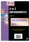 A to Z Orthodontics Vol 25 Orthodontic MCQ.pdf - Dr. Mohammad