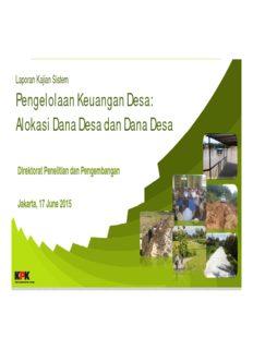 Pengelolaan Keuangan Desa: Alokasi Dana Desa dan Dana Desa