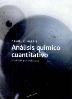 Análisis Químico Cuantitavito Tercera Edición Daniel C. Harris