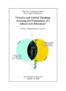 """""""Creative and Critical Thinking: """"Creative and Critical Thinking"""