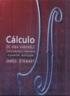 Calculo de una Variable: Trascendentes Tempranas 4ta Edicion