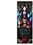 Historical Theology, An Introduction to the History of Christian Thought