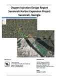 Oxygen Injection Design Report Savannah Harbor Expansion Project Savannah, Georgia