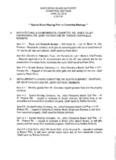 April 23, 2014 Committee Meeting Agenda/BU - Santa Rosa Island