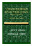 Lo stato della bonifica da amianto a Casale Monferrato amianto a Casale Monferrato