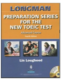 Lougheed preparation Series for the New toeic(R) test Advanced Course