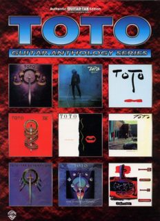 Toto -- Guitar Anthology: Authentic Guitar TAB